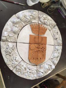 Robbiana in ceramica
